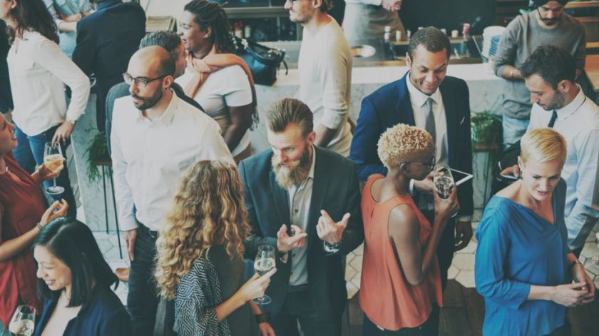 FXE69HEXvhya8ZViTwebyE Nail the art of networking: how to get more from events Random