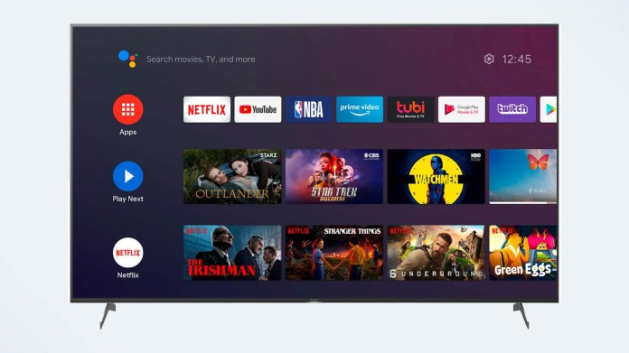 Best 85-inch TV: Sony X900H Series Android TV (XBR-85X900H)