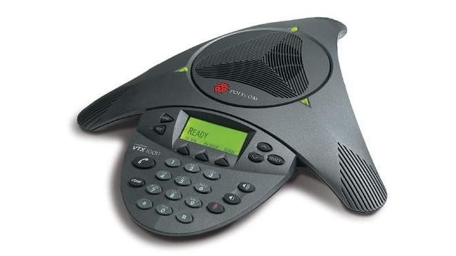 Polycom Soundstation VTX 1000 conference phone console