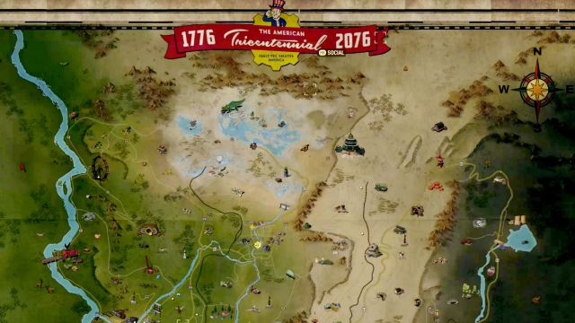 Image result for fallout 76 the map