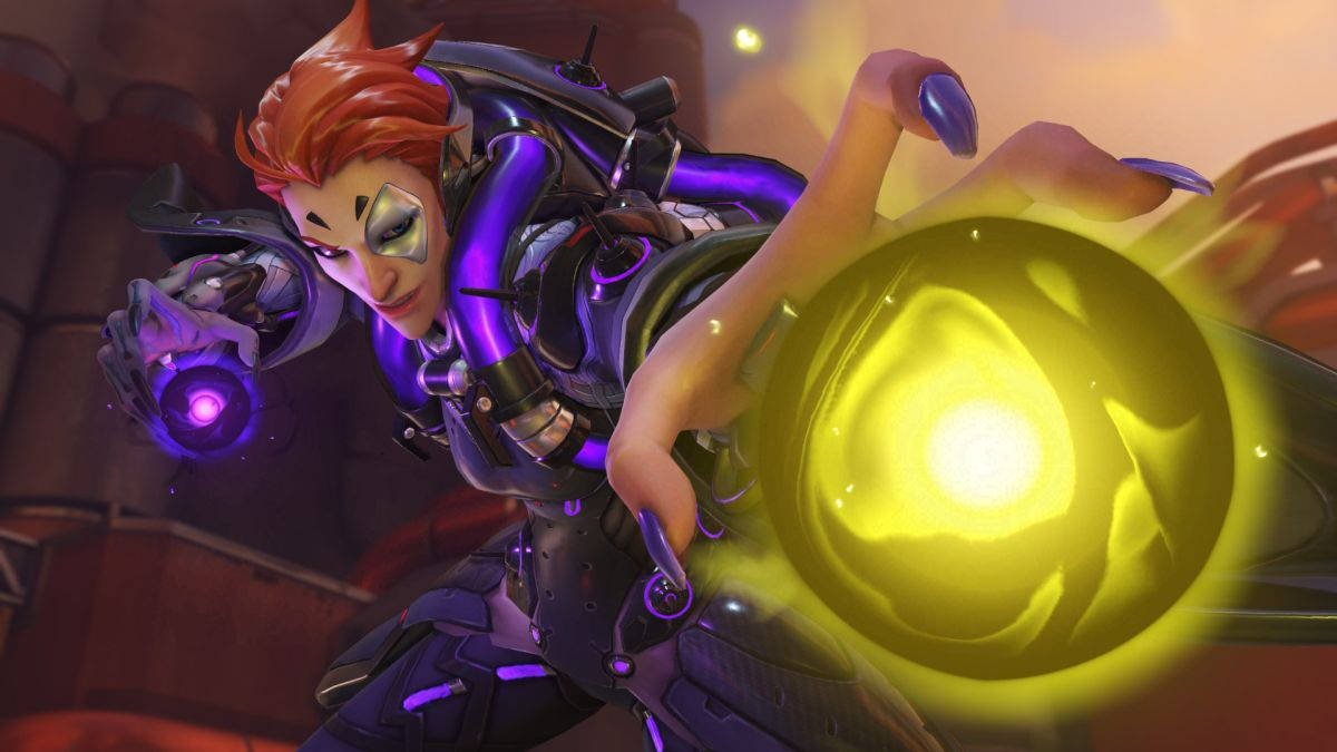The Hurtful Healer Moira Is Now Live In Overwatch PC Gamer