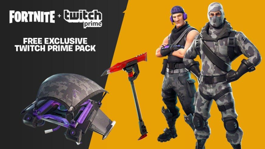 Twitch Prime subscribers get more exclusive Fortnite ...