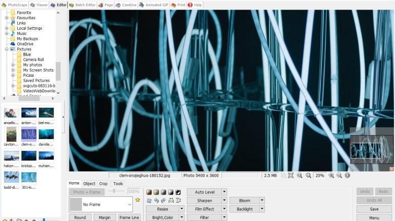 PhotoScape screen grab