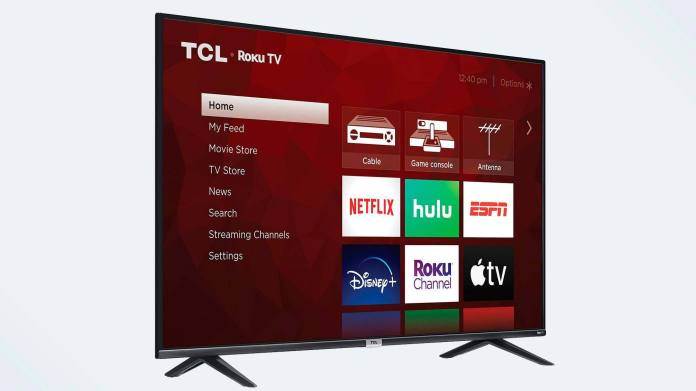 Best TCL TVs: TCL 4-Series Roku TV (S435)
