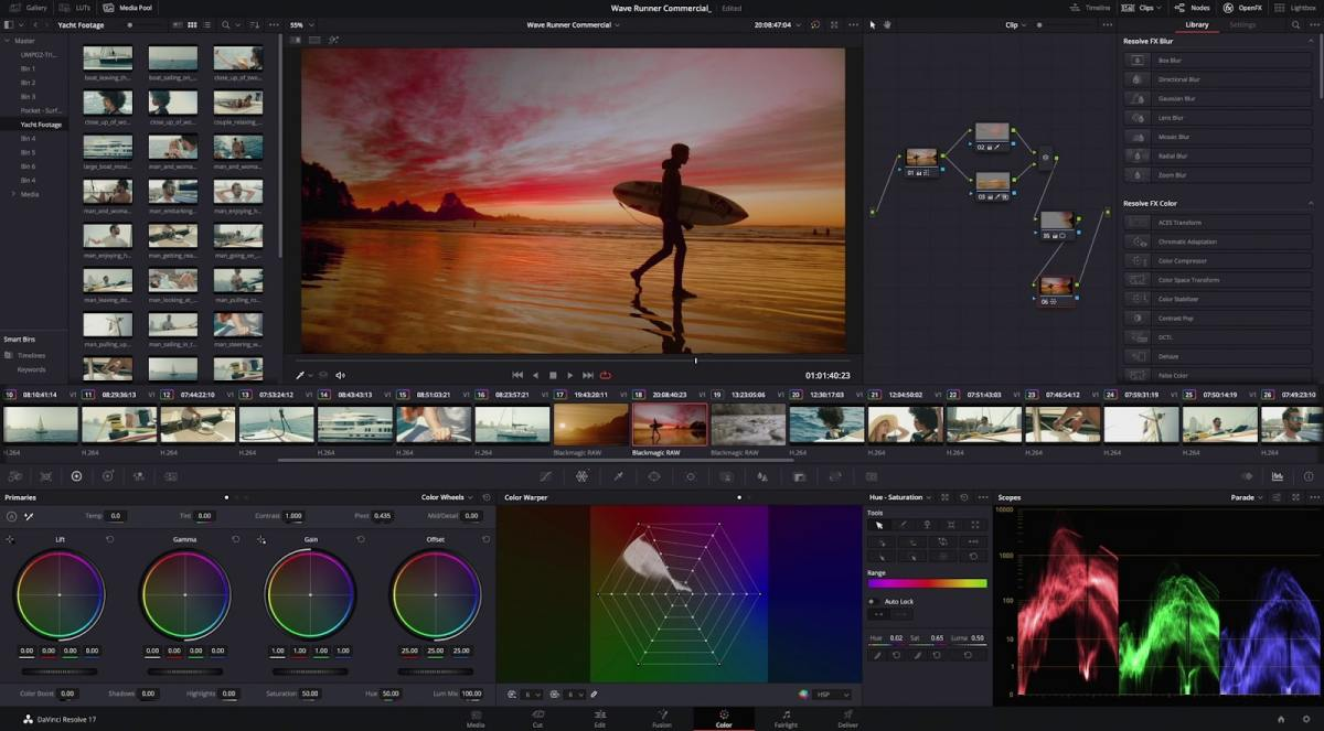 DaVinci Resolve 17 review