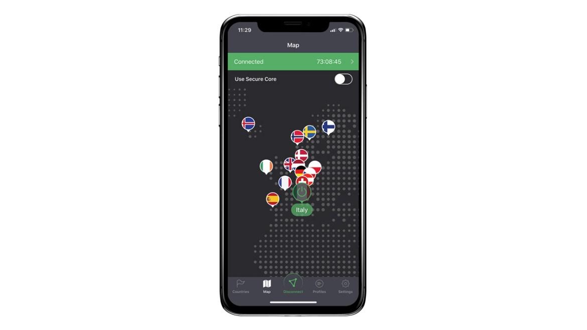 ProtonVPN iOS iPhone