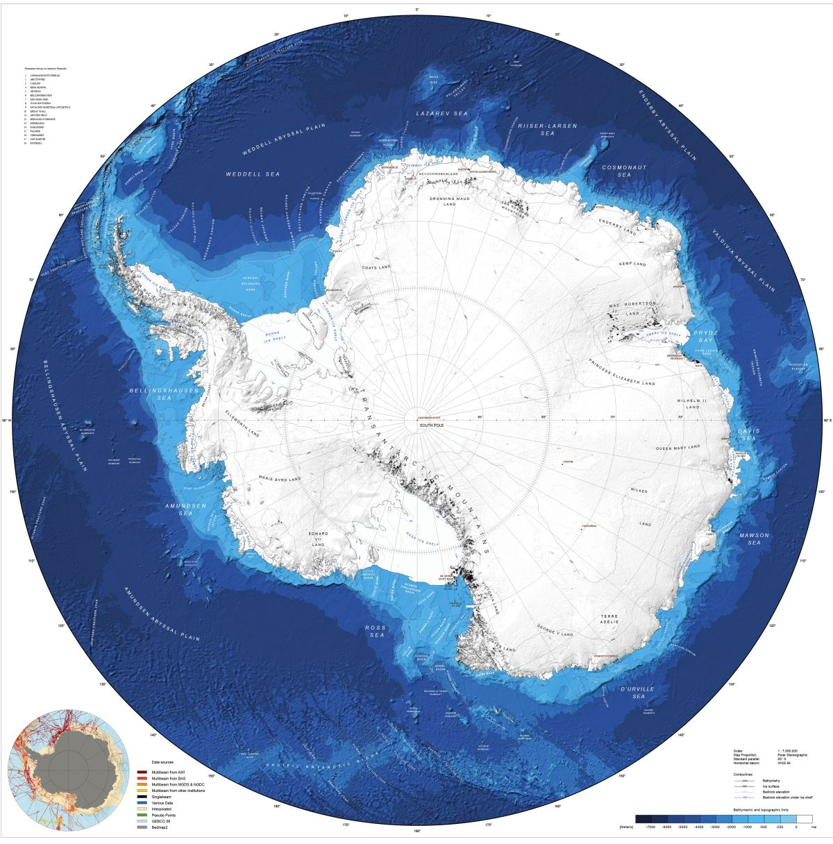 See Antarctica S Entire Seafloor With New Map