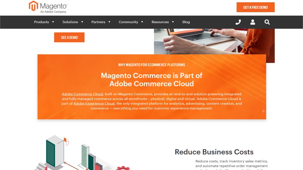 Magento - free, flexible, and supports most payment platforms
