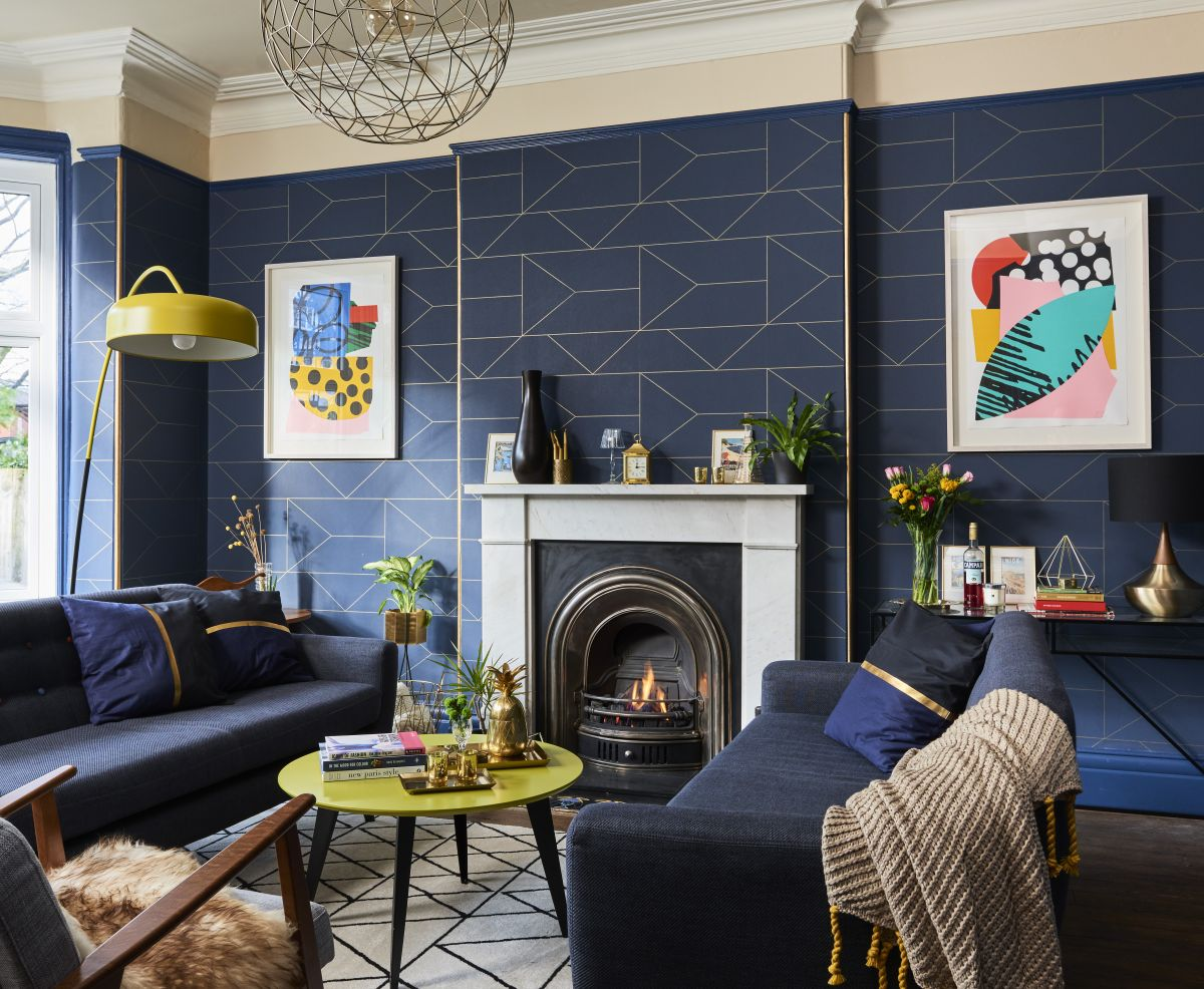 Living Room Case Study A Brand New Look For Under 163 6 000