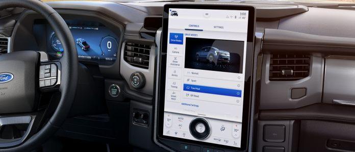 Ford f-150 lightning: interior