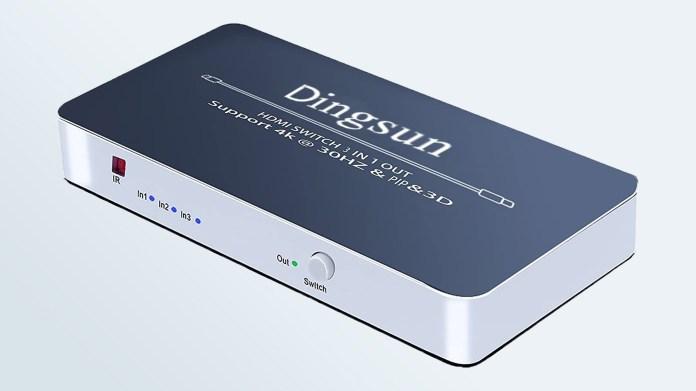 Cheap HDMI Switchers: Dingsun 3-Port HDMI Switch