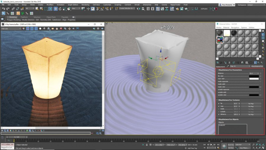 3ds Max - Add ripples