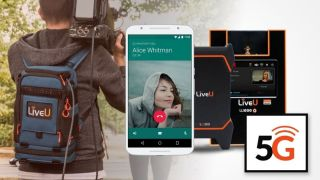 Mobile video production is set to change with 5G. (Image credit: LiveU)