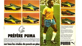 Pele advertising Puma Kings