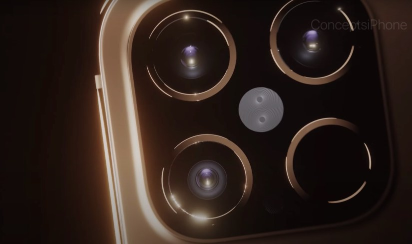 Caméras conceptuelles iPhone 12 Pro