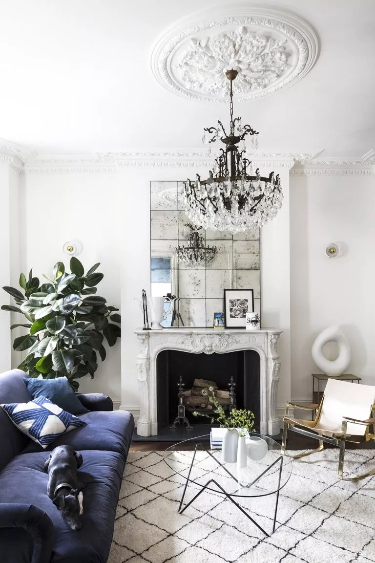 white living room ideas for victorian terrace period homes