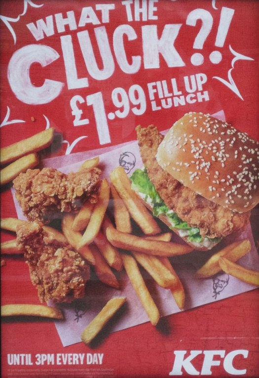 KFC What the cluck ad