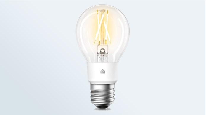 Best smart light bulbs: TP-LINK Kasa Filament WiFi Light Bulb