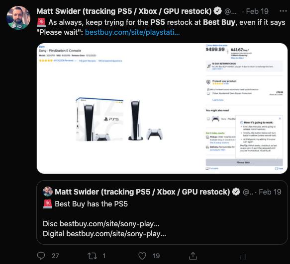 PS5 restock Best Buy