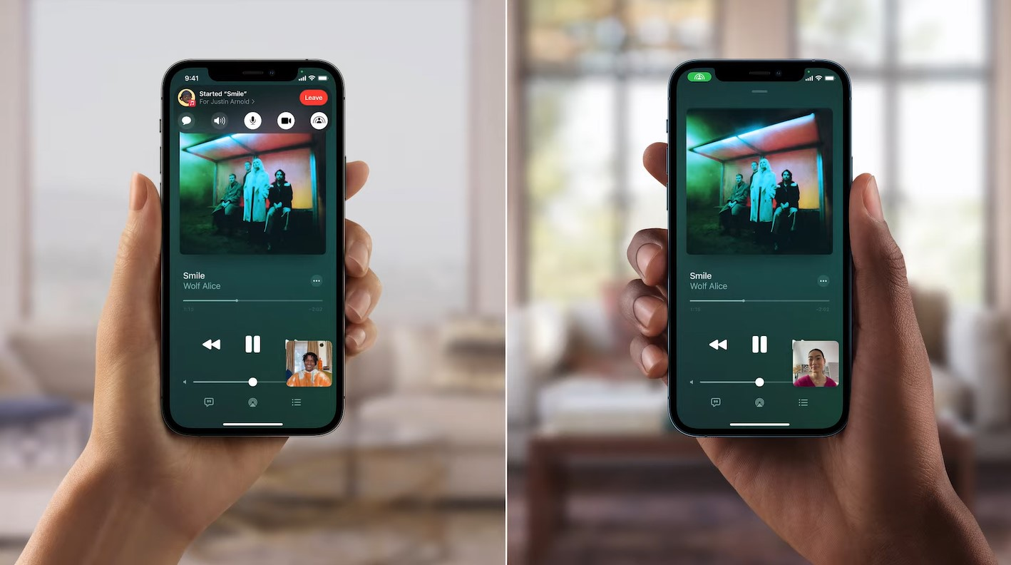 ios 15 features facetime shareplay