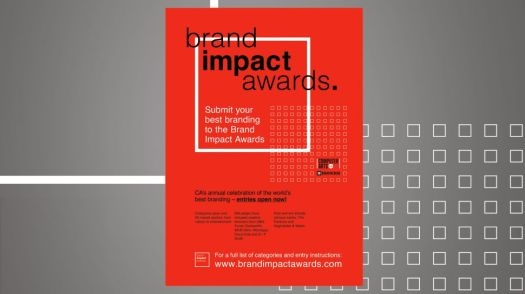 brand impact awards poster