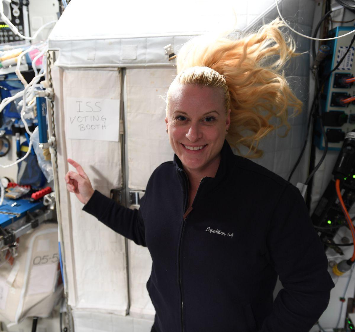 L'astronaute Kate Rubins a voté par anticipation depuis l'ISS — Présidentielle américaine