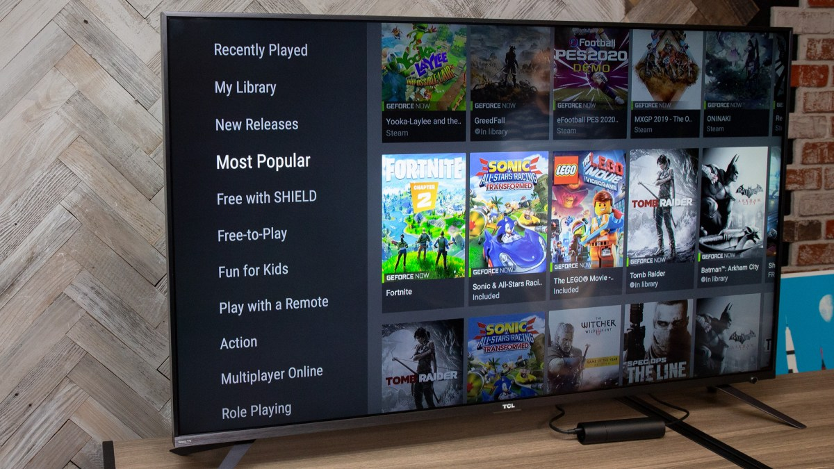 Nvidia Shield TV 2019 review: content
