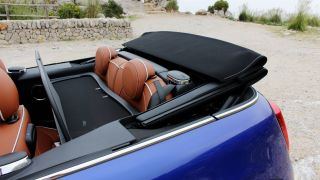 The soft top is sturdy, with a satisfying control