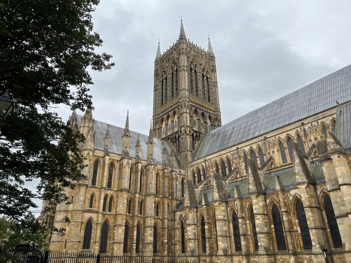 Lincoln Cathedral taken on an iPhone 13 Pro