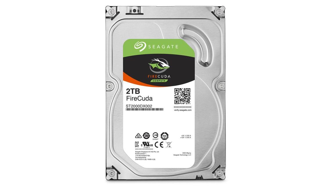 Best hybrid hard drive: Seagate Firecuda Desktop