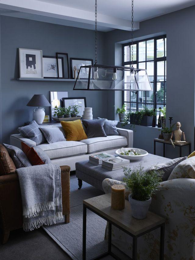 Grey living room ideas: 35 ways to use Pinterest's ...