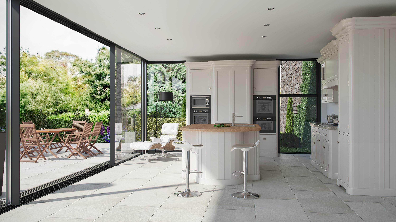 indoor and outdoor spaces