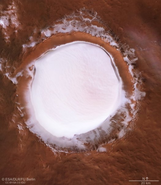 The Martian North Pole