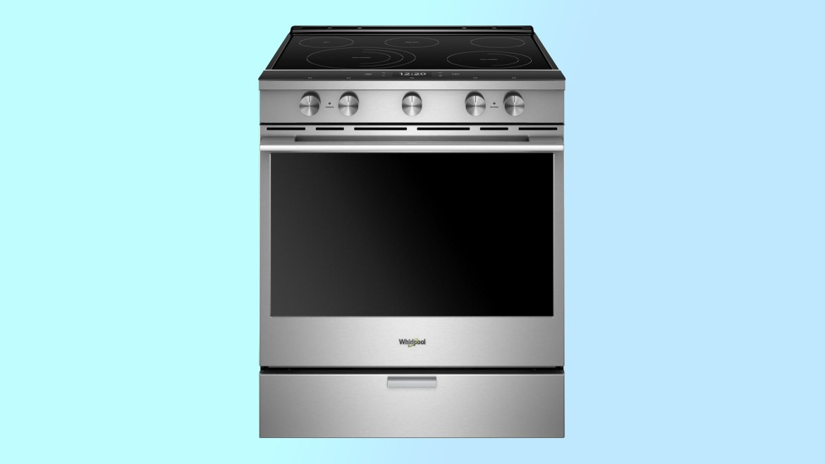 best electric ranges: Whirlpool WEEA25H0HZ