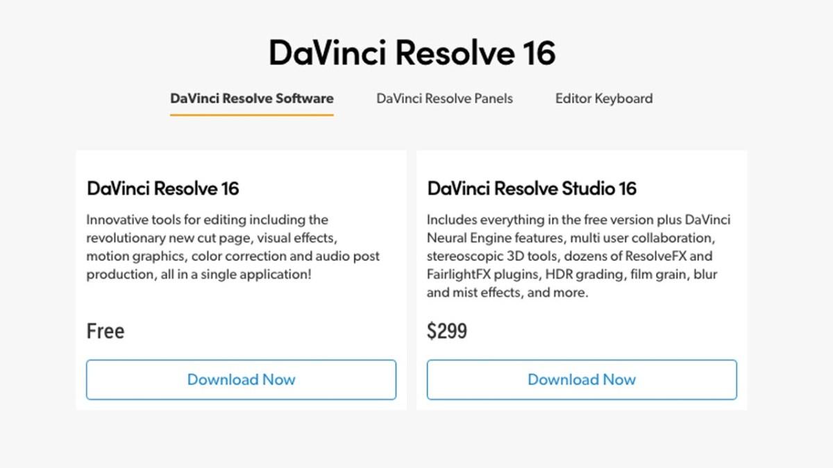 DaVinci Resolve review