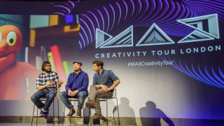 The creators behind Archie the Reindeer sharing their insights on the MAX Creativity Tour