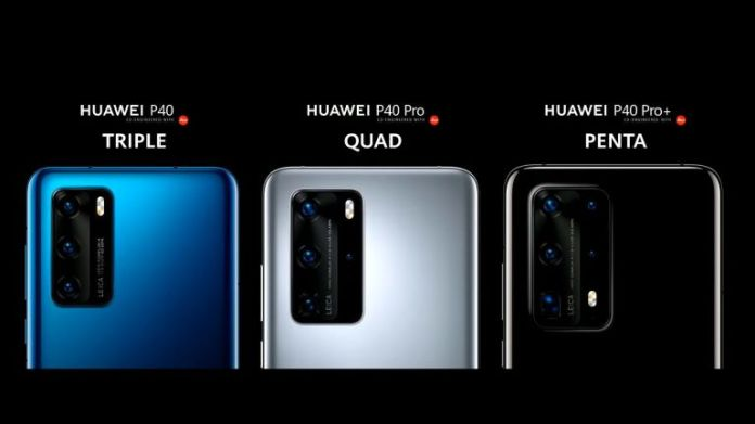 Huawei P40 series officially revealed to take on the Samsung ...