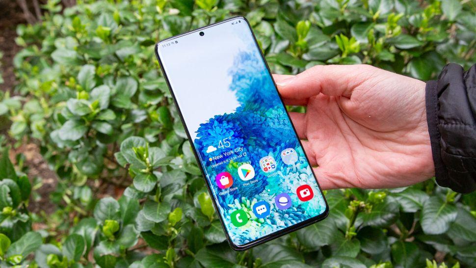 Best waterproof phones: Samsung Galaxy S20 Plus