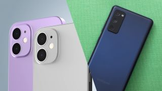 Galaxy S20 FE vs. iPhone 12