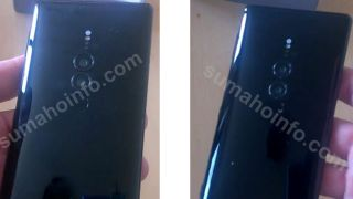 The Sony Xperia XZ3 seemingly has a dual-lens camera. Credit: Sumahoinfo