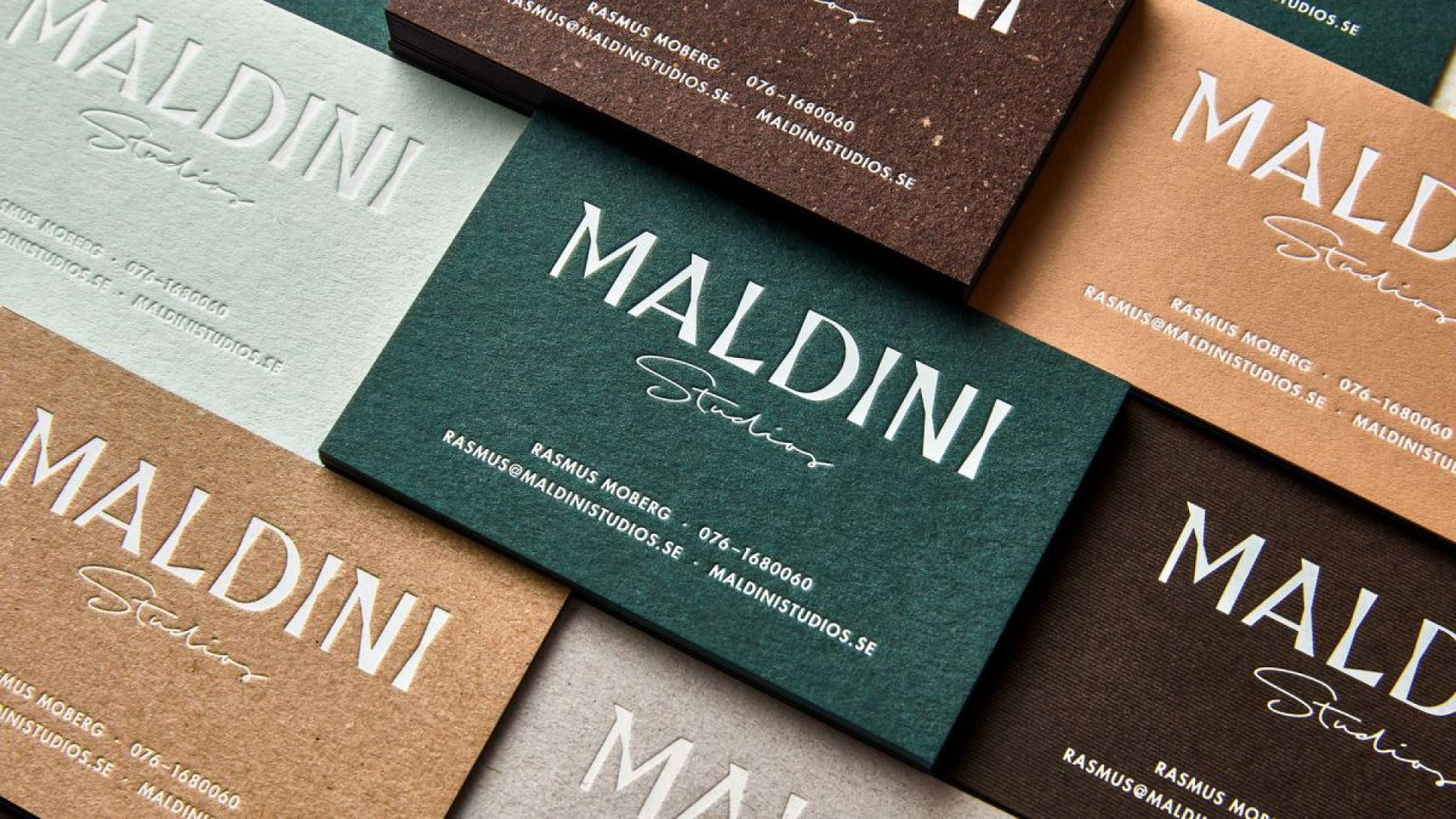 40 inspiring examples of letterpress business cards