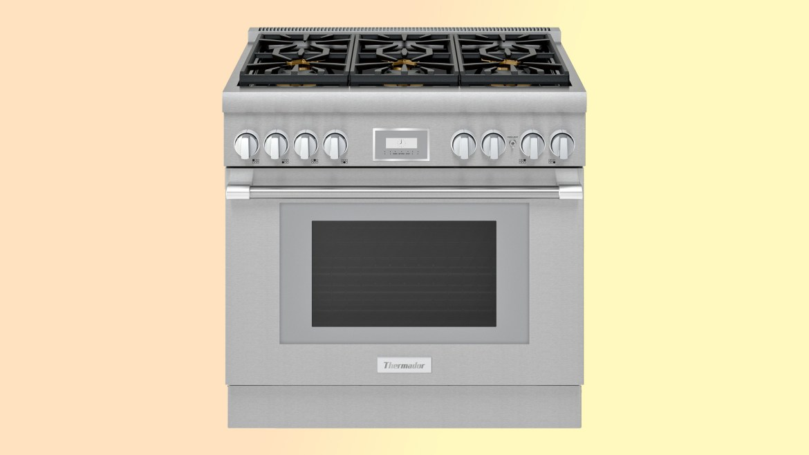 best electric ranges: Thermador Pro Harmony Pro PRD366WHU