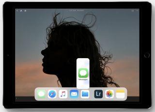 Glissez et déposez les applications directement dans l'écran partagé