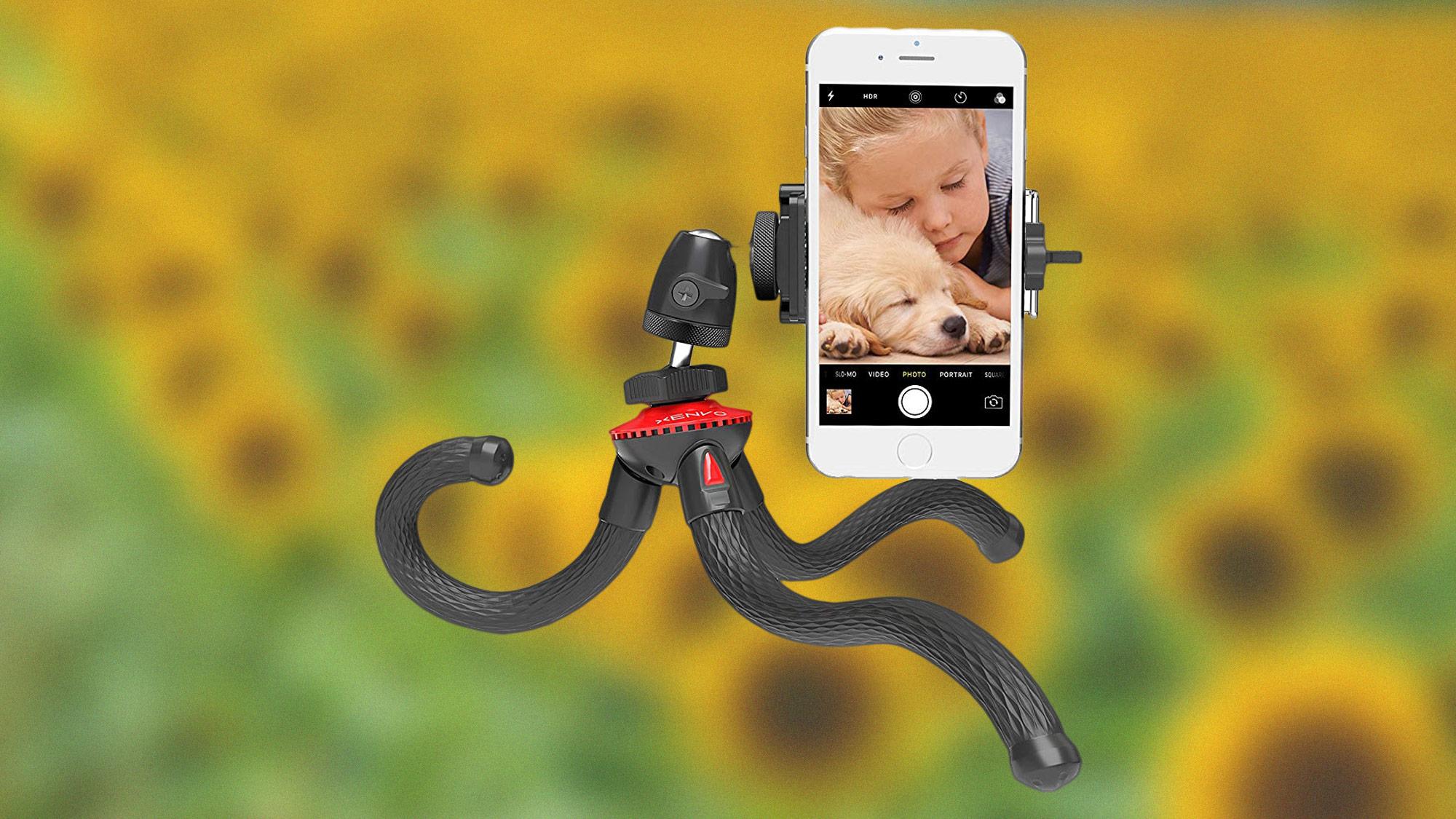 best iPhone tripods: Xenvo SquidGrip tripod