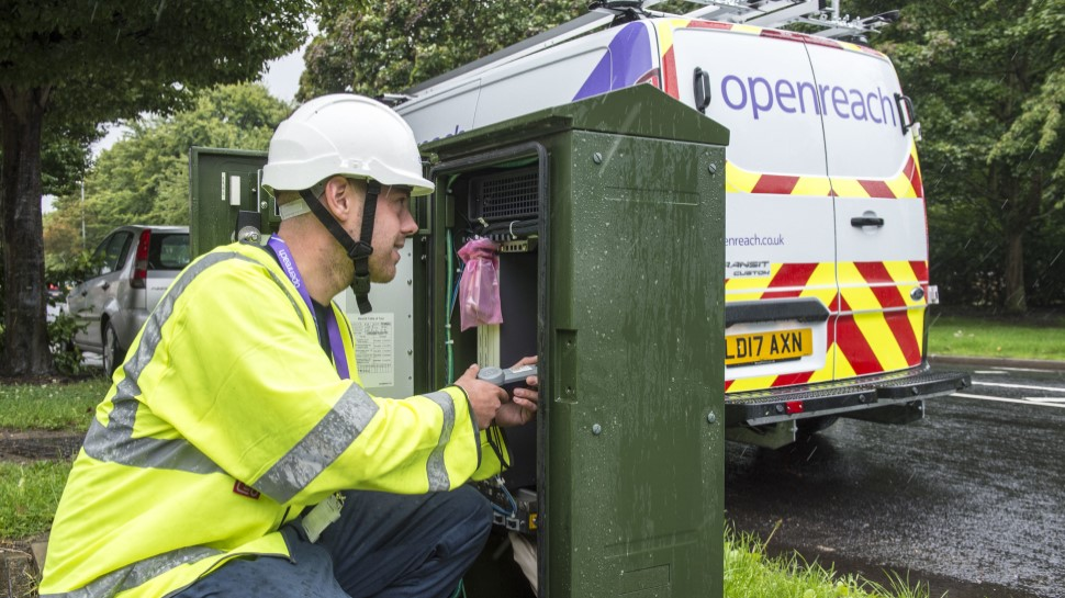 Openreach connects 1.2m properties to FTTP 1