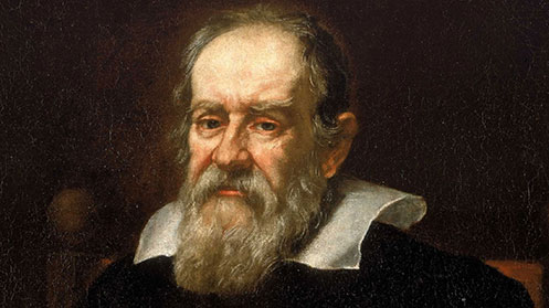 Painting of Galileo Galilei