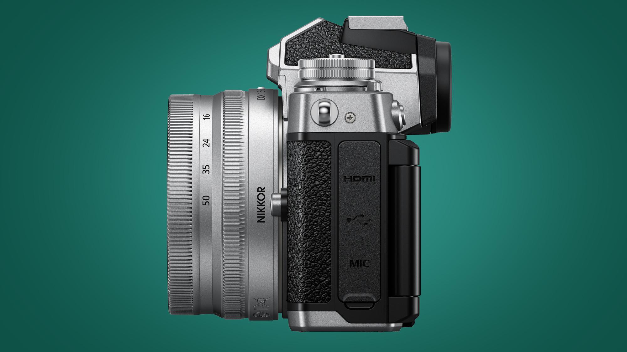 Image of Nikon Zfc ports side-on