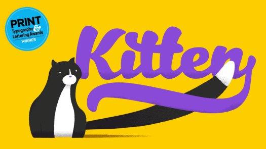 Fun fonts: Kitten
