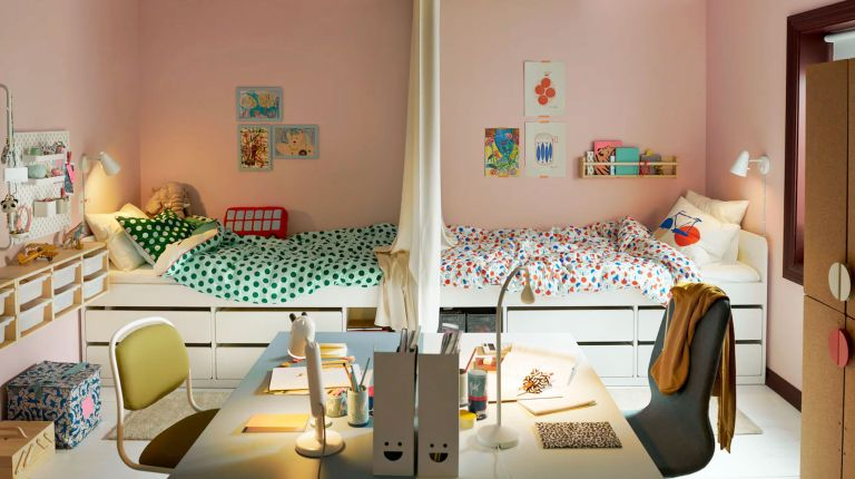 Shared Bedroom Ideas How To Divide A Shared Kids Room Homes Gardens