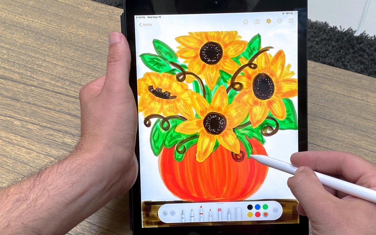 iPad 2020 review Apple Pencil